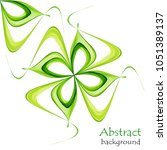 abstract spring background with ... | Shutterstock .eps vector #1051389137