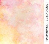 abstract watercolor galaxy sky...   Shutterstock . vector #1051409207