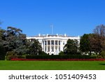 the white house is the official ...   Shutterstock . vector #1051409453