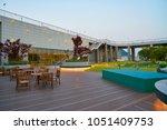 busan  south korea   circa may  ... | Shutterstock . vector #1051409753