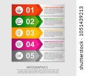 modern vector illustration 3d.... | Shutterstock .eps vector #1051439213