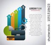 infographic  elements image | Shutterstock .eps vector #1051518623