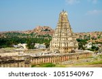 hampi  also referred to as the... | Shutterstock . vector #1051540967