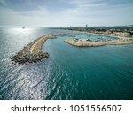aerial view of zygi fishing...   Shutterstock . vector #1051556507