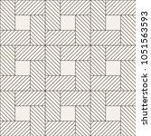 vector seamless pattern. modern ... | Shutterstock .eps vector #1051563593