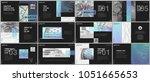 minimal presentations ... | Shutterstock .eps vector #1051665653
