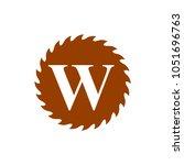 logo of woodwork company vector ...   Shutterstock .eps vector #1051696763
