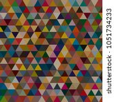 awesome geomeric abstract... | Shutterstock . vector #1051734233