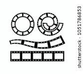 filmstrip element design | Shutterstock .eps vector #1051786853