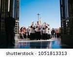 rome italy 24 10 2015 ... | Shutterstock . vector #1051813313