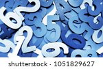 Background Of Numbers. From...
