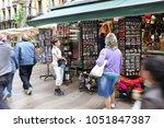 barcelona  spain   june 09 ... | Shutterstock . vector #1051847387
