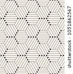 vector seamless pattern. modern ... | Shutterstock .eps vector #1051862567