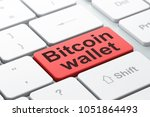 cryptocurrency concept ...   Shutterstock . vector #1051864493