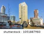 rotterdam  the netherlands  ... | Shutterstock . vector #1051887983
