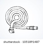 old cotton pour attack pipeline ...   Shutterstock .eps vector #1051891487
