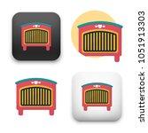 flat vector icon   illustration ... | Shutterstock .eps vector #1051913303