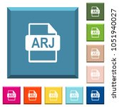 arj file format white icons on... | Shutterstock .eps vector #1051940027