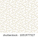 abstract geometric pattern with ... | Shutterstock .eps vector #1051977527