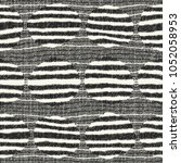 abstract monochrome striped... | Shutterstock .eps vector #1052058953