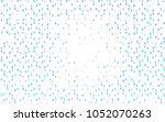 light blue vector template with ... | Shutterstock .eps vector #1052070263
