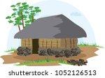 illustration vector of a native ... | Shutterstock .eps vector #1052126513