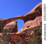 arches national park  usa  | Shutterstock . vector #1052135837