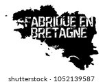 made in brittany  produit en... | Shutterstock .eps vector #1052139587