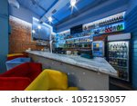 seafood bar and shop | Shutterstock . vector #1052153057