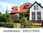 netherlands groningen usquert ... | Shutterstock . vector #1052173343