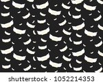 airmail wings pattern  | Shutterstock .eps vector #1052214353