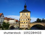 old town hall in bamberg germany | Shutterstock . vector #1052284433