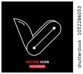 pocket blade vector icon...