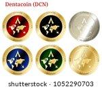 6 in 1 set of dentacoin  dcn  ...