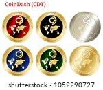 6 in 1 set of coindash  cdt  ...