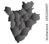 burundi map black gradient grey ...   Shutterstock .eps vector #1052320457