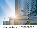the modern office close up is... | Shutterstock . vector #1052350037