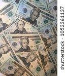 Small photo of Collage of Twenty Dollar Bills