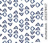 geometric arrows background... | Shutterstock . vector #1052378417