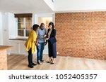 black couple buy new house | Shutterstock . vector #1052405357