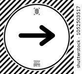 arrow icon symbol | Shutterstock .eps vector #1052503517