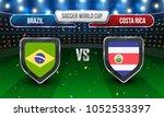 soccer championship league ... | Shutterstock .eps vector #1052533397