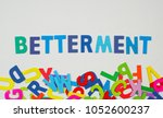 "Small photo of Financial term ""Betterment"""