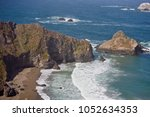 a scenic view of the pacific... | Shutterstock . vector #1052634353