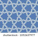 decorative seamless geometric... | Shutterstock .eps vector #1052637977