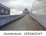 Small photo of The Cathedral of Christ th...scow, an unusual sight