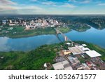 aerial view of the paraguayan... | Shutterstock . vector #1052671577
