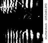 grunge halftone black and white ... | Shutterstock .eps vector #1052681393