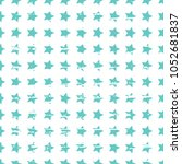 seamless vector pattern with... | Shutterstock .eps vector #1052681837