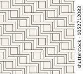 vector seamless pattern. modern ... | Shutterstock .eps vector #1052712083